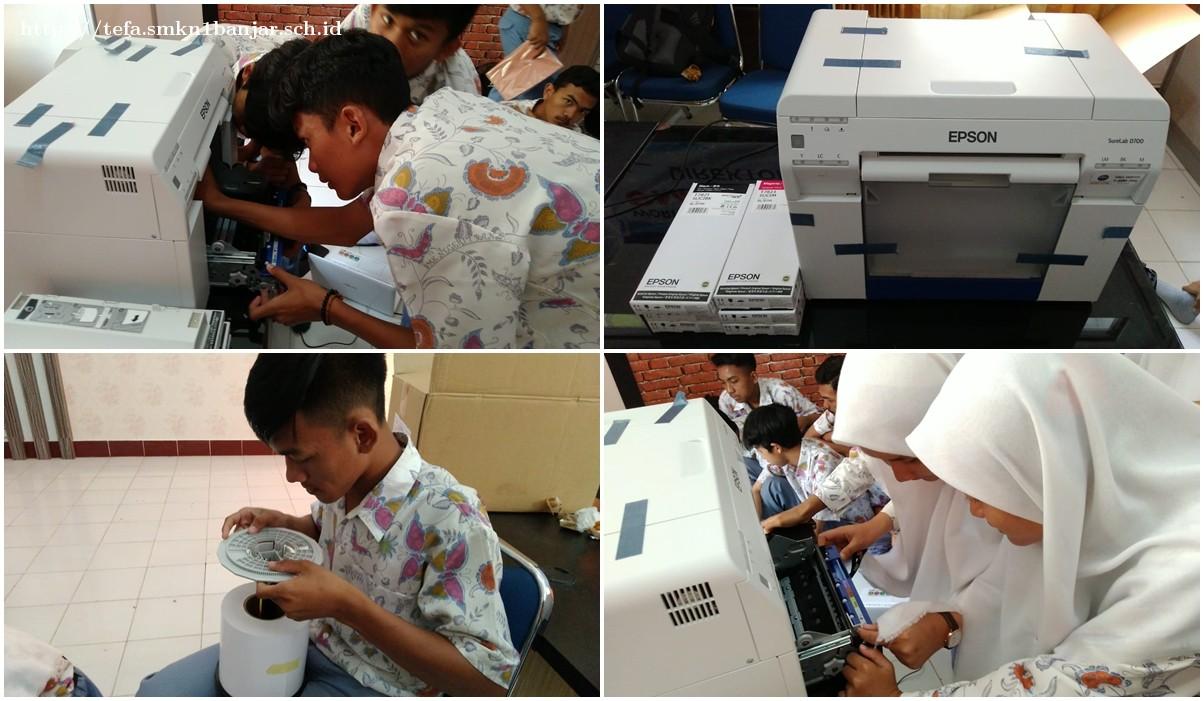 Setting Printer Photo Studio pada Pembelajaran Tefa oleh siswa
